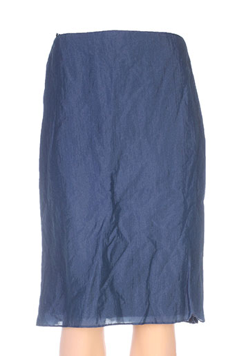 linea raffaelli jupes femme de couleur bleu