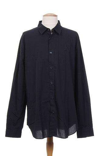 cerruti 1881 chemises homme de couleur bleu
