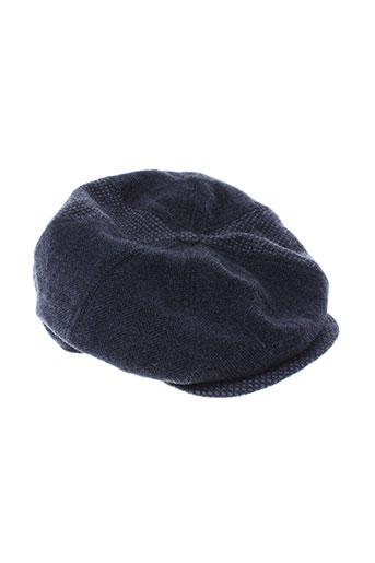 eden et park chapeaux et bonnets homme de couleur bleu