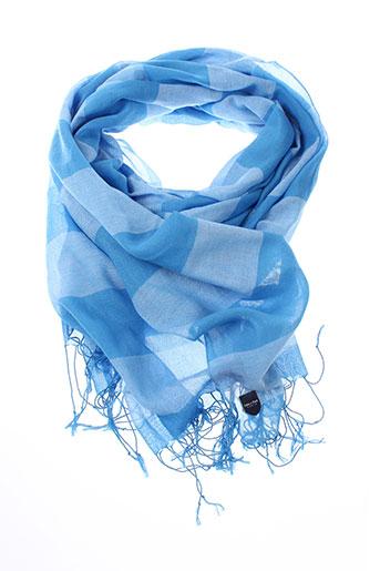 eden et park foulards homme de couleur bleu