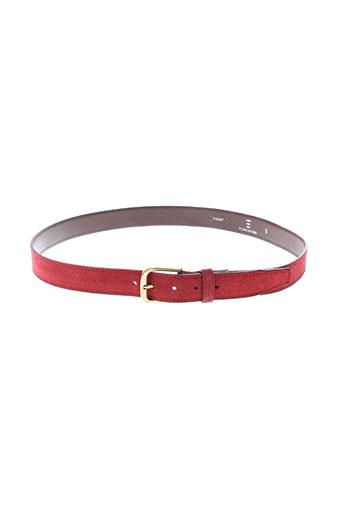 florentino accessoires homme de couleur rouge