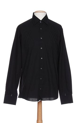 digel chemises homme de couleur noir