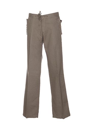 guess by marciano pantalons homme de couleur vert