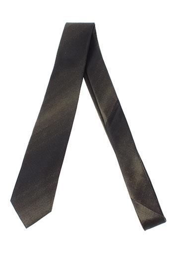 digel cravates homme de couleur vert