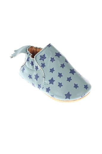 easy et peasy chaussons enfant de couleur bleu