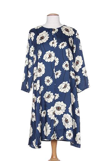 kimika robes femme de couleur bleu