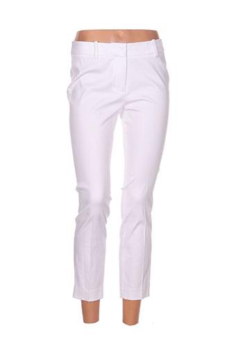 hatley pantacourts femme de couleur blanc