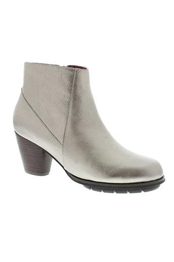 esska boots femme de couleur gris