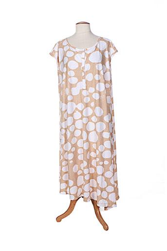 oska robes femme de couleur beige