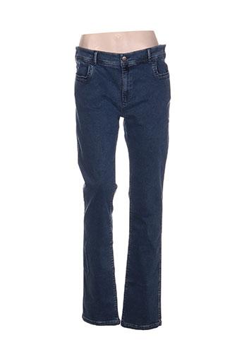 sugar jeans femme de couleur bleu