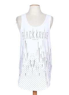 Produit-T-shirts / Tops-Homme-BLACK KAVIAR