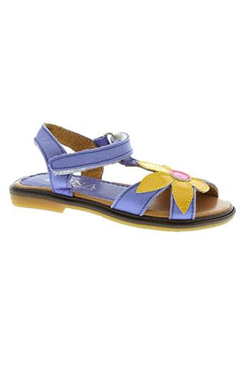 ellos chaussures fille de couleur violet