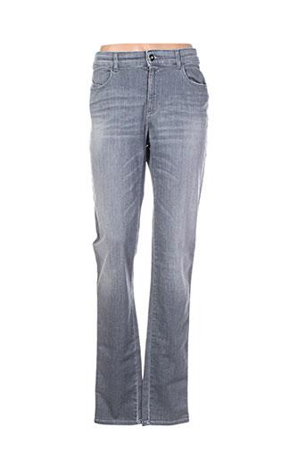 armani jeans femme de couleur gris