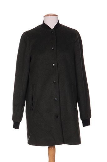 vero moda manteaux femme de couleur vert
