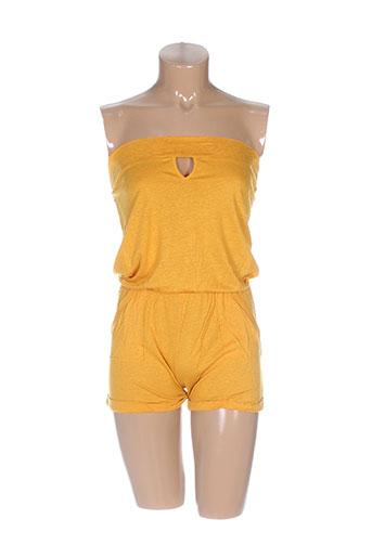 Combishort orange MA(E)VY pour femme