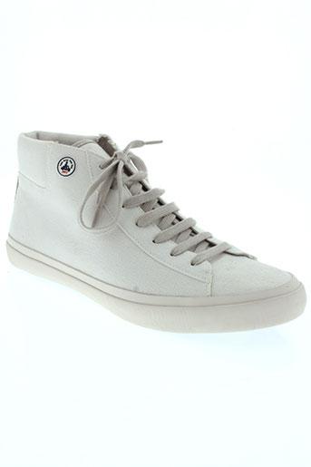 jott (just over the top) chaussures homme de couleur blanc