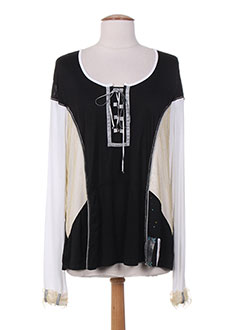 Produit-T-shirts / Tops-Femme-ELISA CAVALETTI