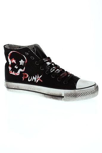 2 stars chaussures homme de couleur noir