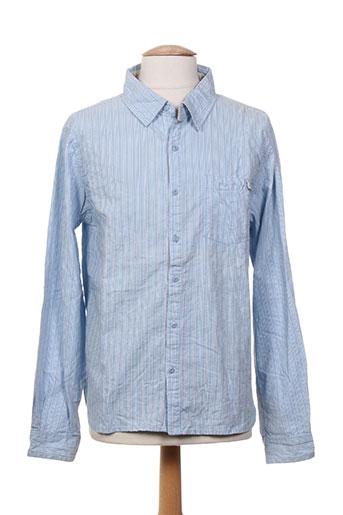 rwd chemises garçon de couleur bleu