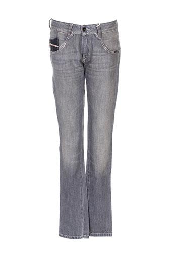 diesel jeans fille de couleur gris