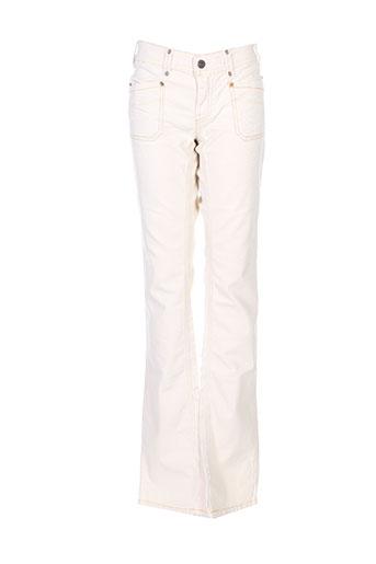 Jeans coupe droite beige DIESEL pour fille