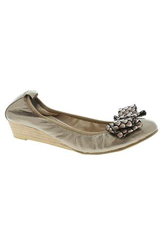 axes et soirs chaussures femme de couleur marron