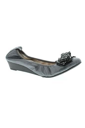 axes et soirs chaussures femme de couleur gris