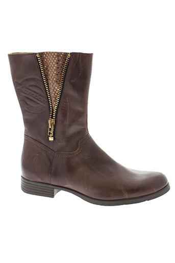 ramdam chaussures femme de couleur marron