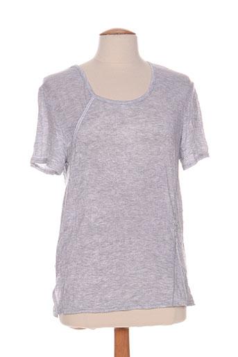 gevana t et shirts et tops femme de couleur gris