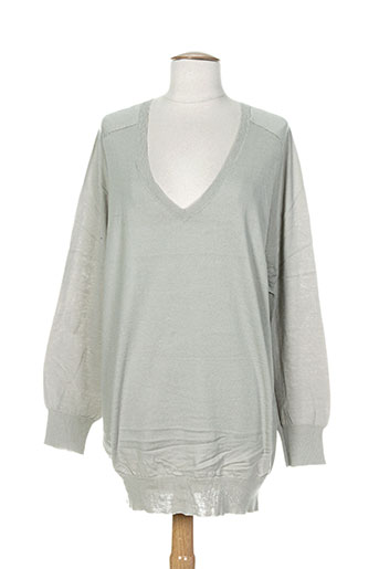 Pull tunique gris DIABLESS pour femme