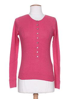 T-shirt manches longues rose DIABLESS pour femme