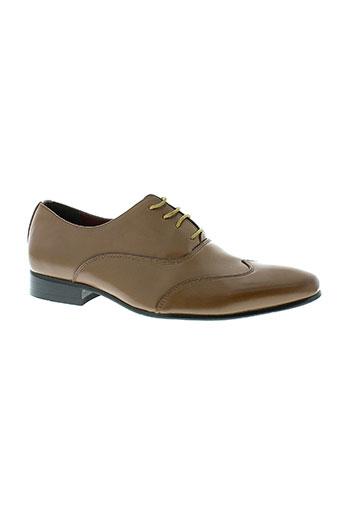 genk chaussures homme de couleur marron
