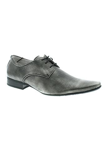 goor chaussures homme de couleur gris