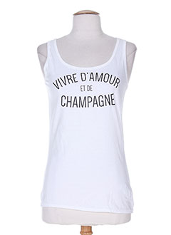 Produit-T-shirts / Tops-Femme-DE PARIS & FIVE.PARIS