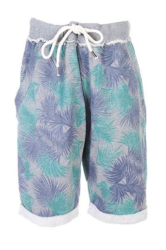 bread and buttons shorts / bermudas homme de couleur gris
