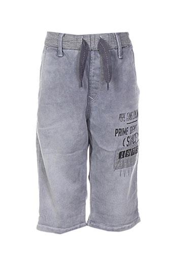 pepe jeans shorts / bermudas garçon de couleur gris