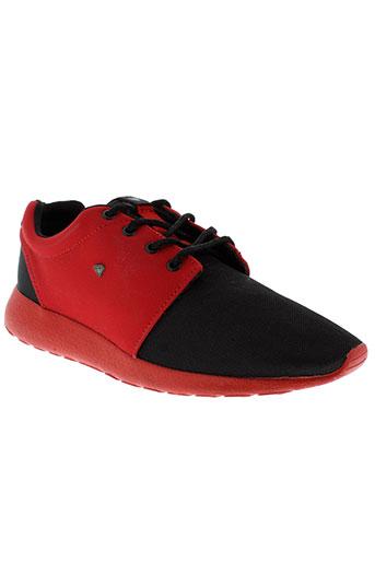 cash money chaussures homme de couleur rouge