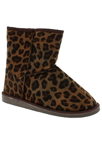 coco et perla boots femme de couleur marron