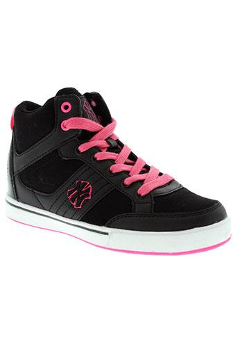 new york yankees chaussures fille de couleur noir