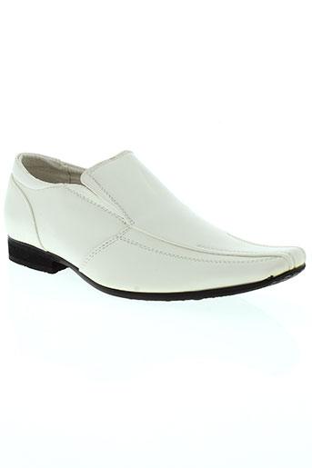 galax chaussures femme de couleur blanc