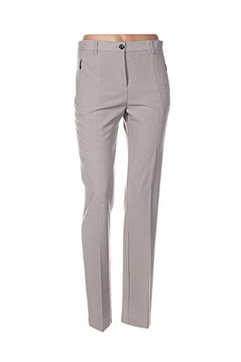 brandtex pantalons femme de couleur gris