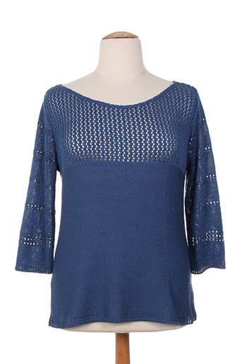 lucchini pulls femme de couleur bleu