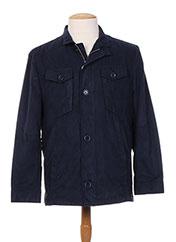 Veste casual bleu BENNY LES HOMMES pour homme seconde vue