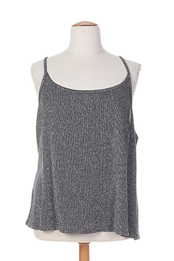 jean biolay chemises femme de couleur gris