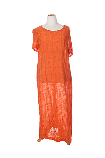 altina robes femme de couleur orange