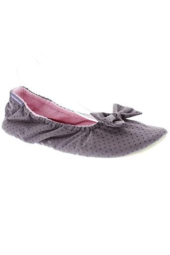 isotoner chaussures femme de couleur gris