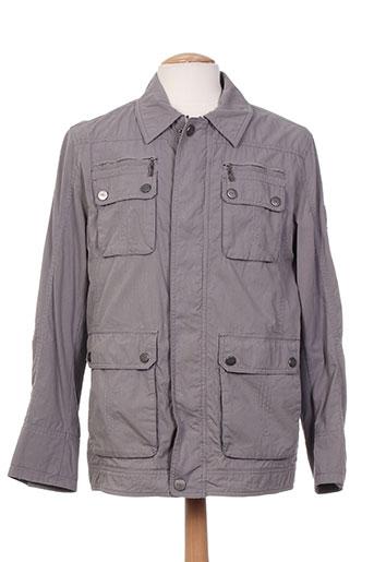 chevy manteaux homme de couleur gris