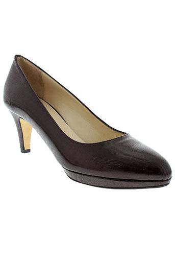 frenesia chaussures femme de couleur rouge
