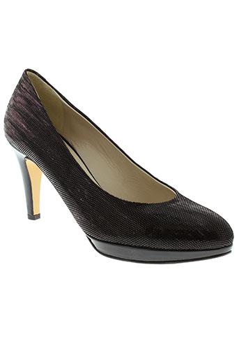frenesia chaussures femme de couleur noir