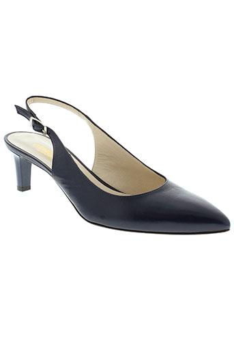 adrien chaussures femme de couleur bleu